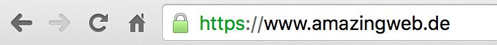 HTTPS Schloss